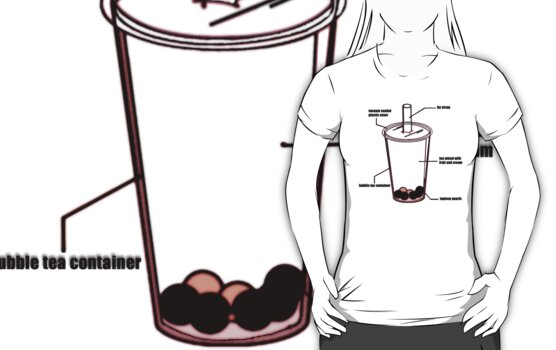 BUBBLE TEA DIAGRAM by S DOT SLAUGHTER