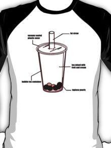 BUBBLE TEA DIAGRAM T-Shirt