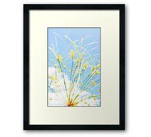 Nile Plant Framed Print