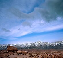 Boulders and Sky by Chris Whitney