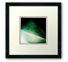 Bamboo Steam Framed Print