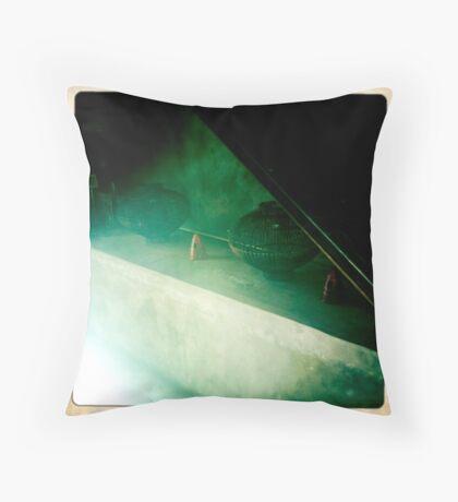 Bamboo Steam Throw Pillow
