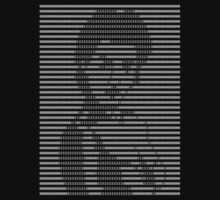 Beauty in Binary (Reversed) by Ben Herman