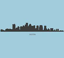 Boston Skyline by KingdomofArt