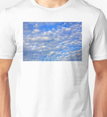 Lots of tiny clouds. Unisex T-Shirt