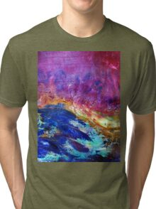 """""""Collision of Beauty"""" Tri-blend T-Shirt"""