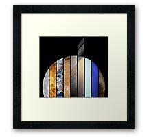 All Nine Planets Framed Print