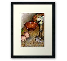 Cold Comfort Kitchen Framed Print