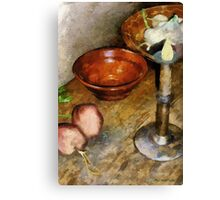 Cold Comfort Kitchen Canvas Print