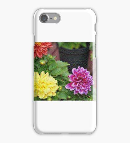 Botanical reptile iPhone Case/Skin