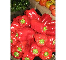 Red Peppers Photographic Print