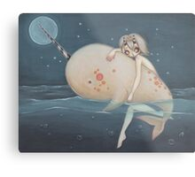 The Narwhal fairy sprite Metal Print