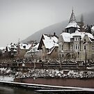 Gingerbread Houses - Heidelberg by Kathryn Steel