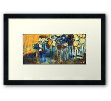 Golden Landscape Framed Print