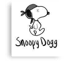 Snoopy Dogg Canvas Print