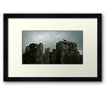 Moody Castle Framed Print