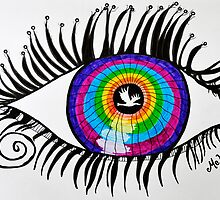An Autistic Eye by MelDesign