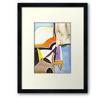 Abstract Watercolor #12 Framed Print