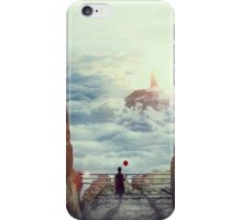 Alone With Clouds iPhone Case/Skin