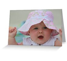 I'm so Excited and Happy to see you! Greeting Card