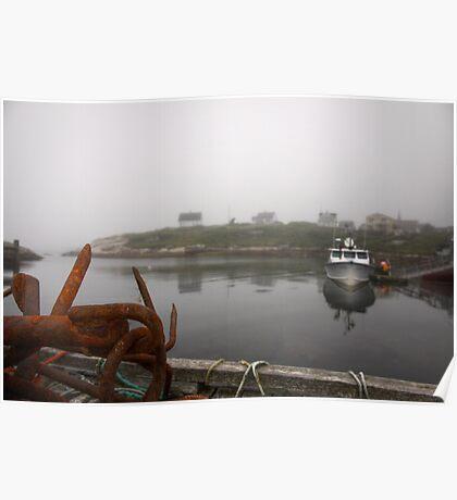 Peggy's Fog Poster
