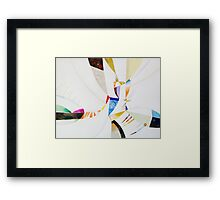 SHARDS Framed Print