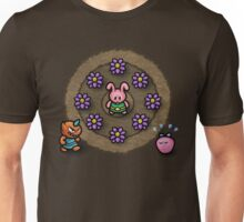 Pink Link Bunny Unisex T-Shirt