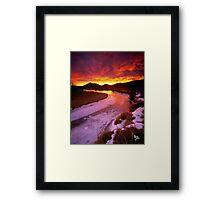 Moraine Park Framed Print