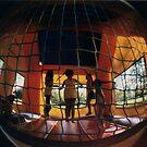 bounce house by Desiree Salas