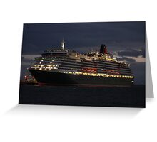 Queen Victoria - Station Pier Greeting Card