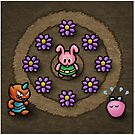 Pink Link Bunny by likelikes