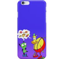 Heffer and Gir in Food Heaven iPhone Case/Skin