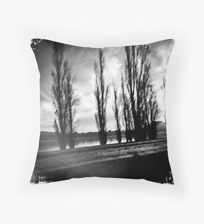 Canberra trees Throw Pillow