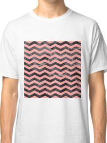 Geometric vs Natural - peach Classic T-Shirt