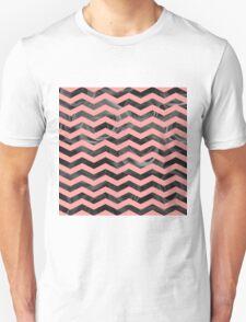 Geometric vs Natural - peach Unisex T-Shirt