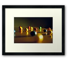 Candy Under Inspection Framed Print