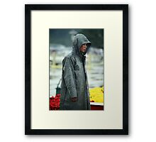 Red Army Soldier Framed Print