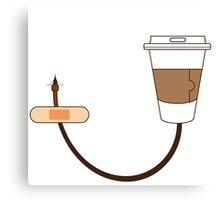 caffeine boost Canvas Print