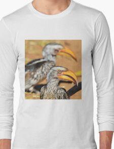 Yellow-billed Horn-bill - Beaks of Color and Life Long Sleeve T-Shirt