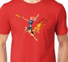 Phoenix Jean Grey Pixelated (Fire) Unisex T-Shirt