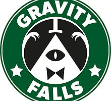 Gravity Falls - Starbucks by king-zanziba
