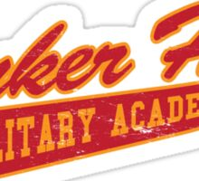 Bunker Hill Military Academy Sticker