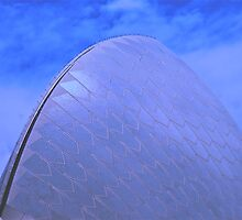 Opera House Sail by Ronald Rockman