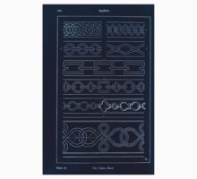 A Handbook Of Ornament With Three Hundred Plates Franz Sales Meyer 1896 0150 Bands Chain Inverted Kids Tee