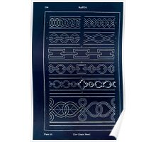 A Handbook Of Ornament With Three Hundred Plates Franz Sales Meyer 1896 0150 Bands Chain Inverted Poster