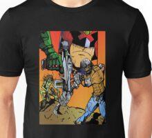 Mean Machine Angel - Up ta 4 with Judge Dredd  Unisex T-Shirt