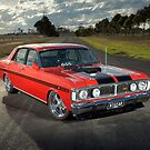 Red Ford XY GT Replica by John Jovic