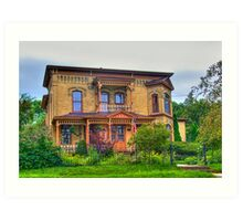 Lovely Old House Art Print