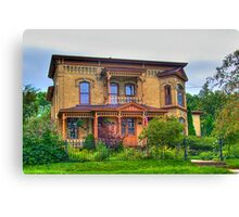 Lovely Old House Canvas Print