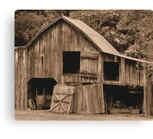 """Grandpappy's 'Work from Home' Jobs Center""... prints and products Canvas Print"